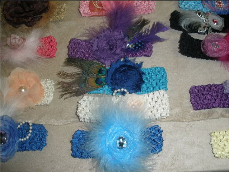 Baby Headbands See them at Le Petite Bebe on Facebook: https://www.facebook.com/pages/Le-Petite-Bebe/300425339990657