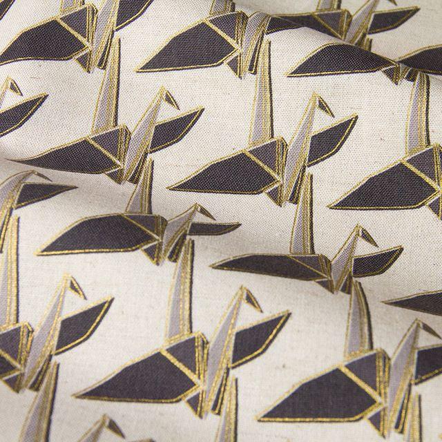 50 cm * 110 cm Japoński KOKKA DIY Patchwork Pikowania Tkanin Tkaniny Tkanina Bawełniana Pościel Papierowych Żurawi A
