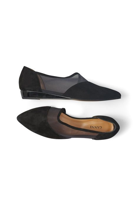 Nyoko Mesh Shoes, Black