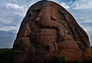 MAHABUBNAGAR: An ancient Ganesha idol sculpted on a big granite boulder is lying in a state of neglect since centuries in the district. Believed to be carved out around 1140 A.D. by a king of western Chalukya dynasty, the idol is located in an agricultural field at Avancha village of Thimmajipet mandal in the district.