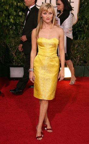 2007 Golden Globes - Reese Witherspoon (Nina Ricci)