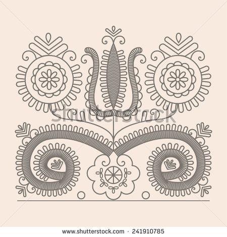 stock-vector-traditional-floral-hungarian-pattern-from-kalotaszeg-region-of-transylvania-241910785.jpg (450×470)