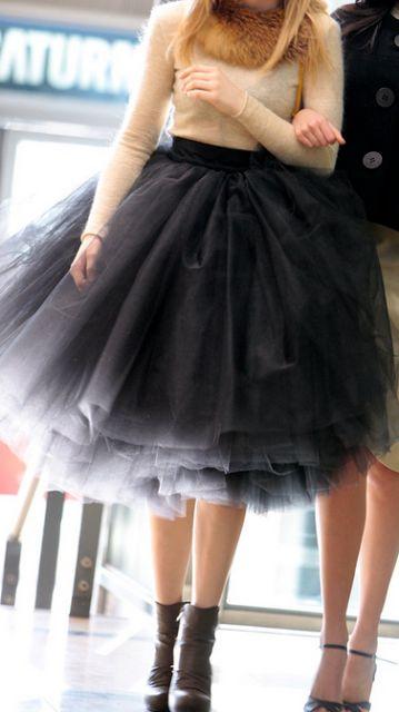 El misterio de Pepa: TENDENCIAS: Princesa Urbana, o cómo lucir una falda de tul
