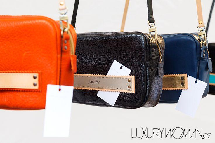 Slovenská značka Popular přivezla svěží design tašek, za který se rozhodně nemusí stydět.