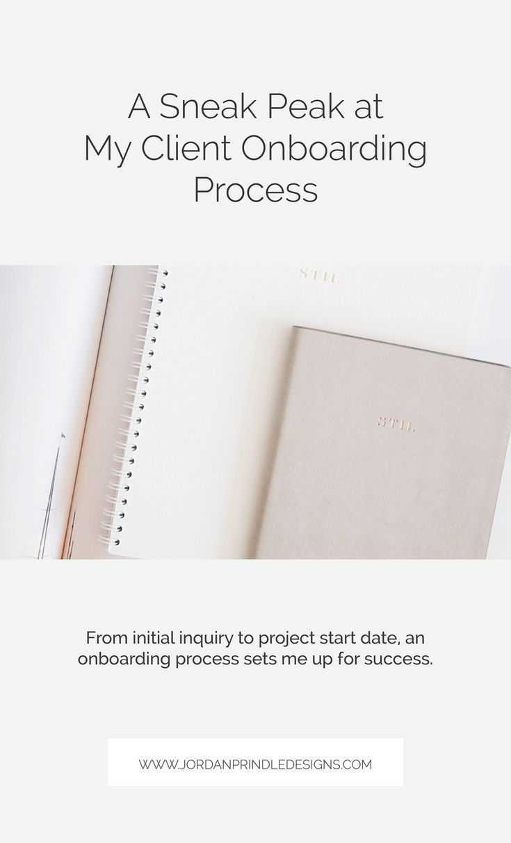 A Sneak Peak At My Client Onboarding Process Onboarding Process Onboarding Learn Branding