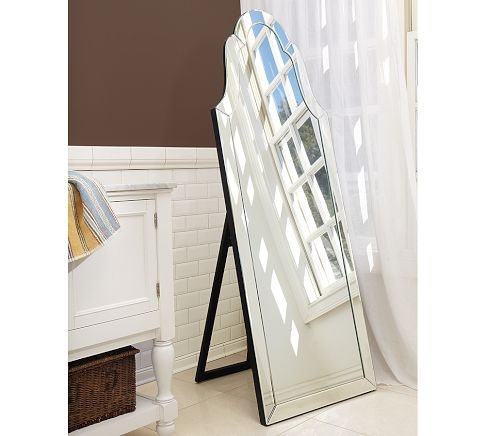 "Elise Floor Mirror, 24 x 66"": Mirror Mirror, Floor Mirrors, Elie Floors, Floors Mirror, Barns Elie, Master Bedrooms, Bathroom Ideas, Pottery Barns, Full Length Mirror"