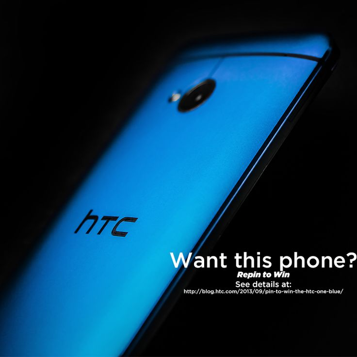 Want a chance to win an #HTCOne Blue? See details at: http://blog.htc.com/2013/09/pin-to-win-the-htc-one-blue/