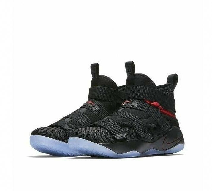 watch 4a00f 5b695 Nike Lebron Soldier XI Flyease Mens Basketball Shoes 15 ...