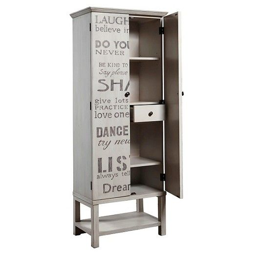 The Right 2 Home Gardner Wine Cabinet will hold a place of prominence in your home. The wine cabinet holds glasses, bottles and your wine paraphernalia inside cupboard doors that are covered with names of different varieties of wine. The hardwood wine case weighs a sturdy 167 pounds.