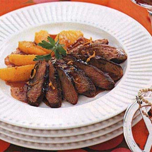 One of the dishes that introduced Americans to French food. This version calls for duck breasts and a simple reduction sauce.