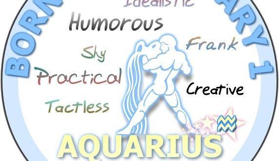 February 1 - Aquarius Birthday Horoscope Analysis & Personality Traits - Sun Signs