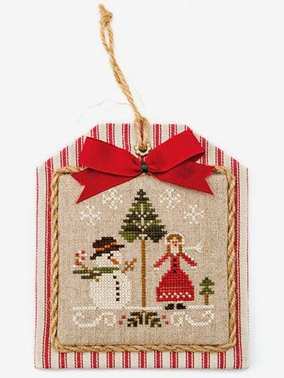 Cross Stitch Ornaments Christmas Finishing Ideas