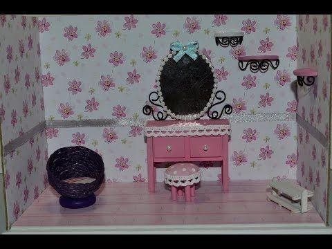 """Мебель из набора """"комната принцессы"""" (кукольная миниатюра). - YouTube"""