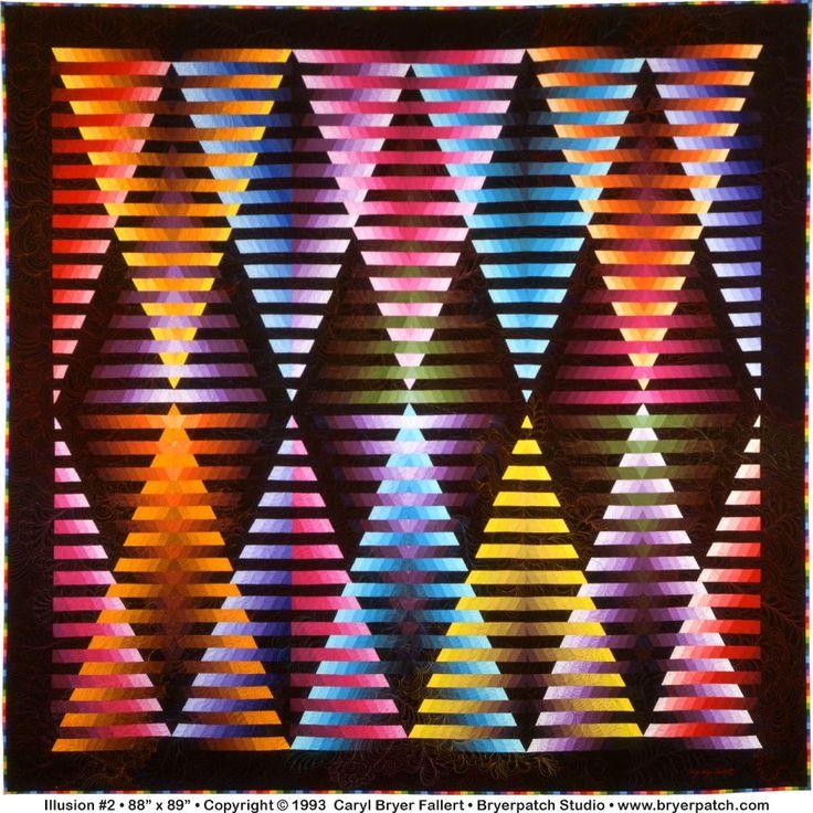 Illusion # 6: © 1993, Quilt Art Record által Caryl Bryer Fallert