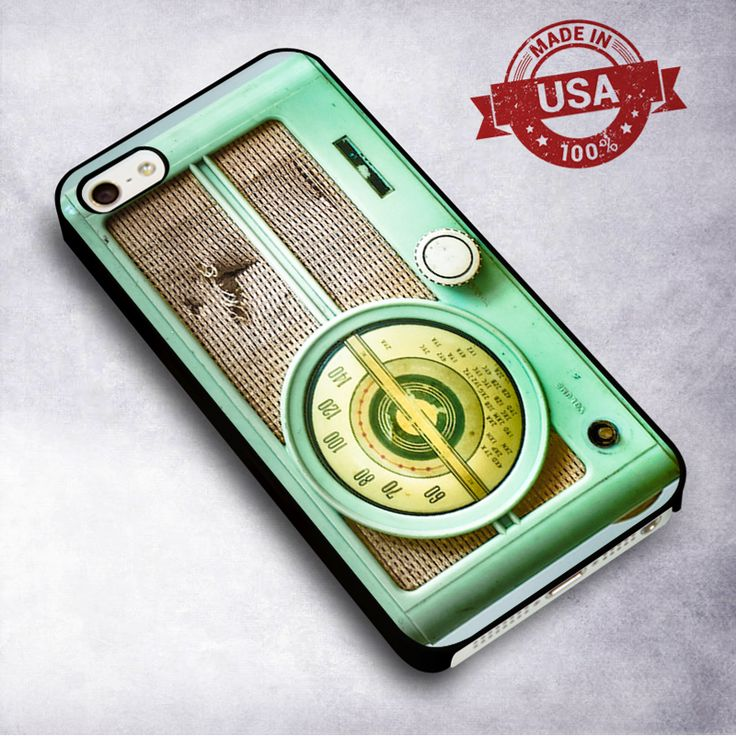 Awesome Radio retro - For iPhone 4/ 4S/ 5/ 5S/ 5SE/ 5C/ 6/ 6S/ 6 PLUS/ 6S PLUS/ 7/ 7 PLUS Case And Samsung Galaxy Case