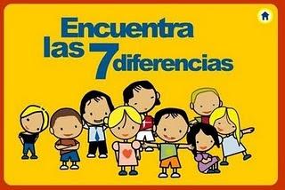 Actividades para Educación Infantil: Busca las diferencias VITAMINIX