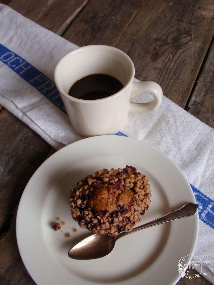 Claus, Blueberry cake クラウスのブルーベリーケーキ パリ
