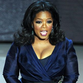 Oprah Winfrey; she's a benevolent billionaire, giving gazillions to charity; because of her Leadership Academy