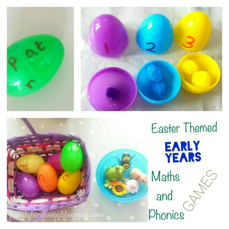 Easter/Spring themed early years activities and ideas