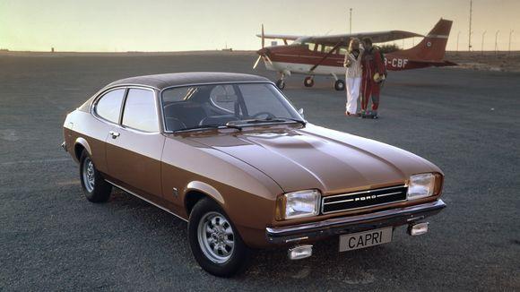Oldtimer Ford Capri: Der deutsche Mustang