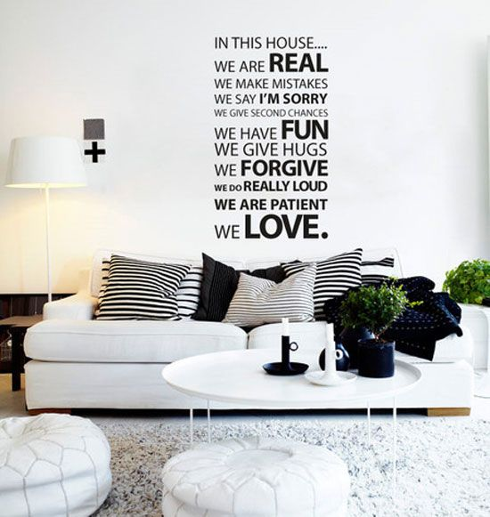 Decorative Wall Decals | ... Designs Of Wall Stickers / Wall Art Decals To Decor Your Bedrooms