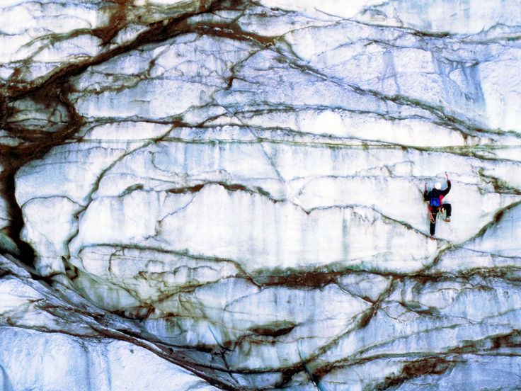 When summer heat has you beat, here's the chance to do something uniquely cool. Explore the natural beauty of the largest moving glacier in the US as you scale 30-foot walls of sheer ice for a bone-chilling thrill.