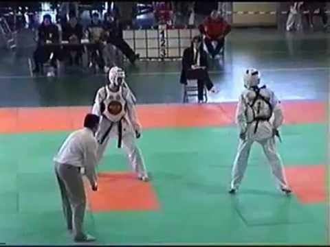 【Taekwondo】Combo Kicks, Turning Kicks, Single Kicks - YouTube