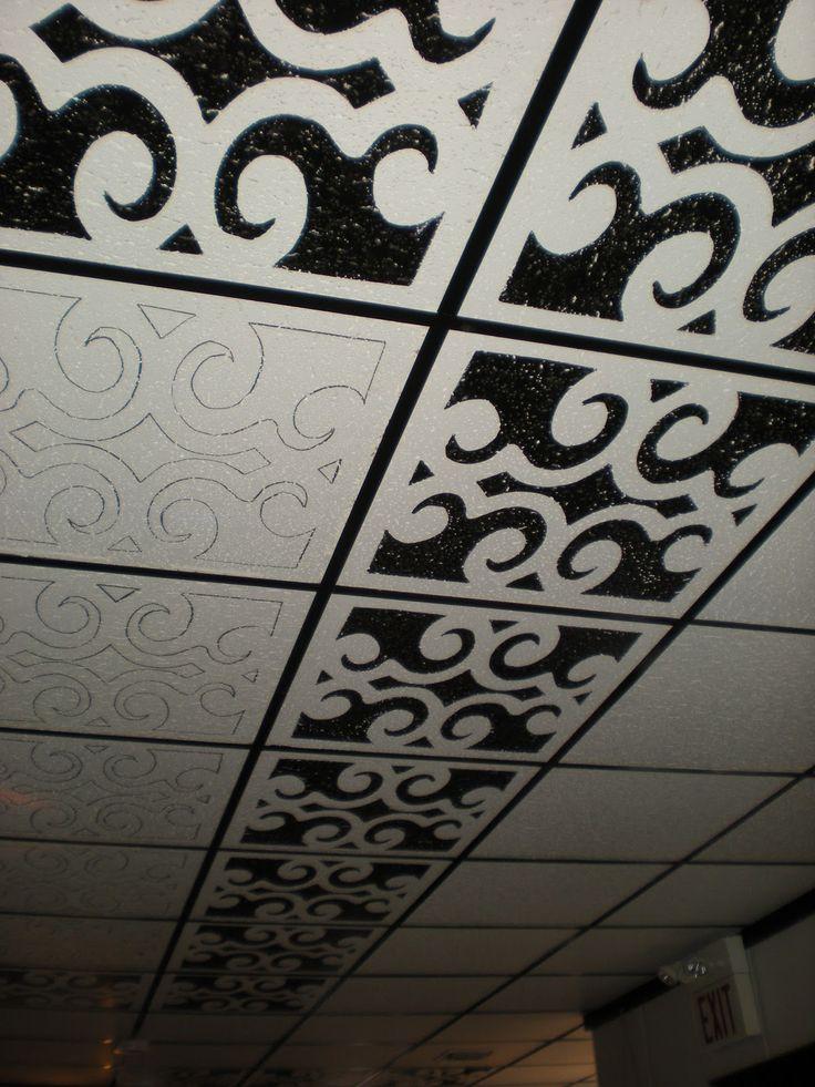 Best 25 Drop ceiling makeover ideas on Pinterest  Drop ceiling basement Finish basement