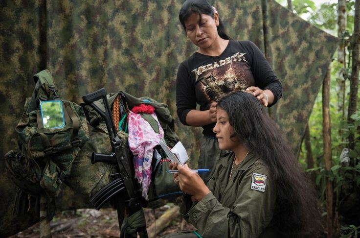 """The Women Fighting the Colombian Government Tell Their Stories"" —California…"