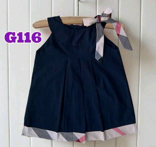 Dress burberry navy (G116) || size S-XXL || IDR 102.000