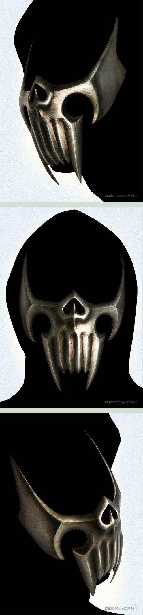 Assassin mask by ~DenisPolyakov on deviantART