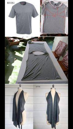 Diy shirt knippen