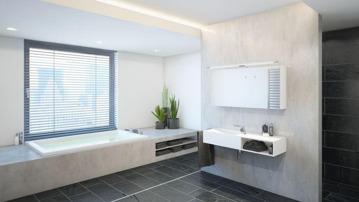 Modernes Badezimmer-Design MANHATTAN: urbanes Design, mit welchem sich das Lebensgefühl der Metropole in das eigene Zuhause holen lässt.