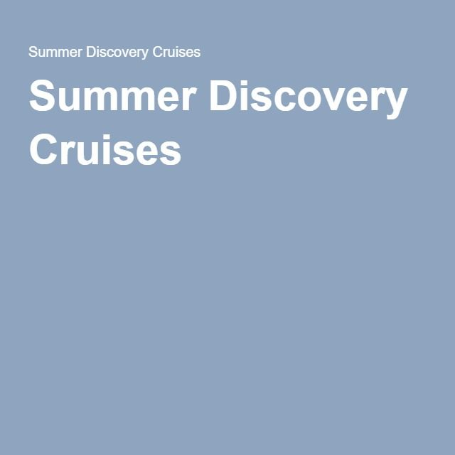 Summer Discovery Cruises |  Lake Erie and Lake St Clair