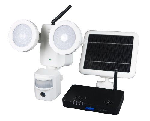 52 best outdoor security cameras images on pinterest night vision xepa psd3 solar powered led security camera light with wireless dvr details at http mozeypictures Images