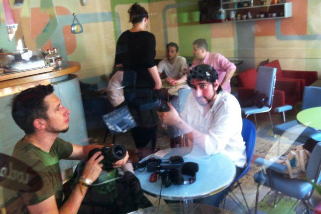 Behind the scenes: the first episode of Praguing Around! with Adad Warda and Jan McGregor www.myvideostories.com