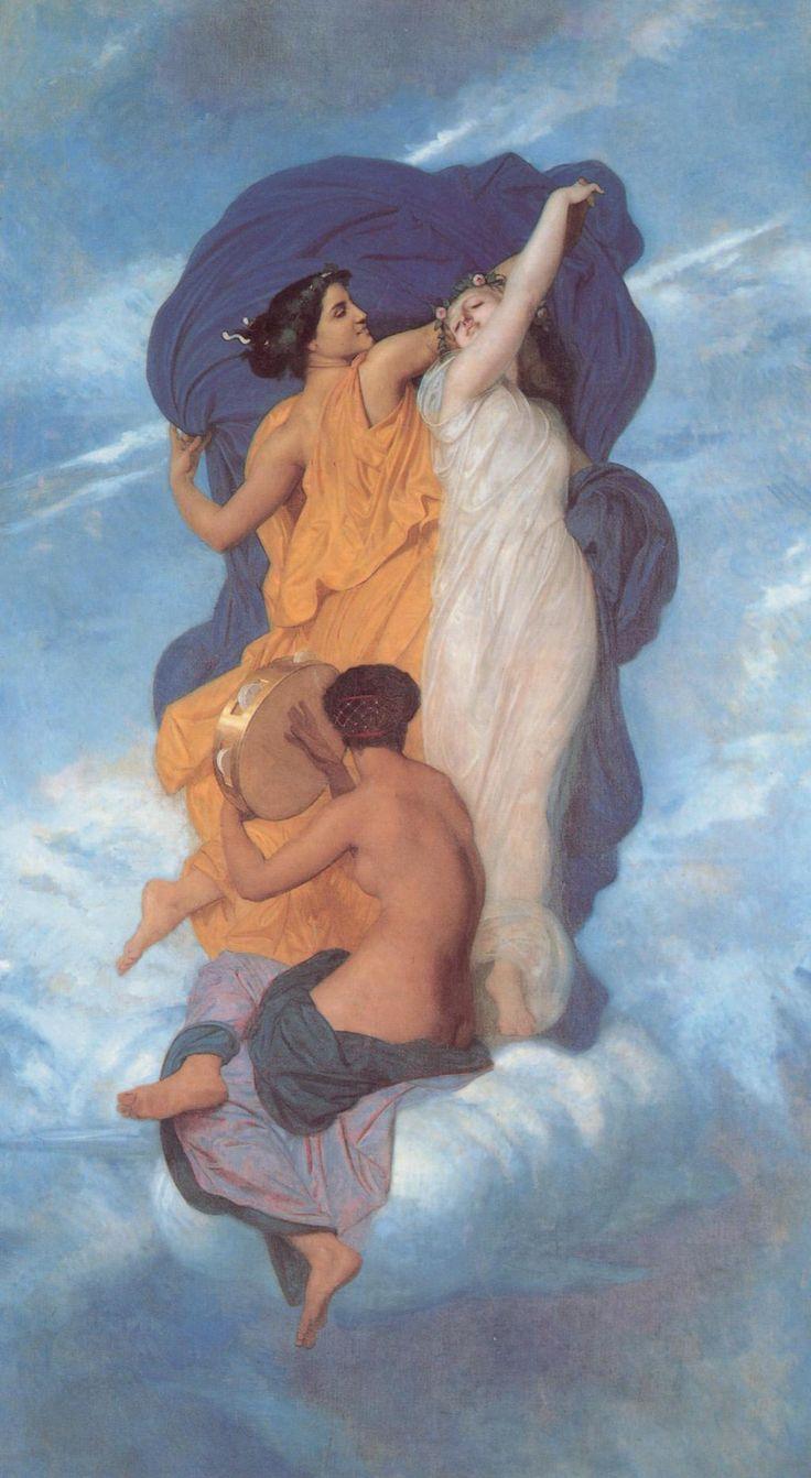 William-Adolphe Bouguereau. The Dance 1856