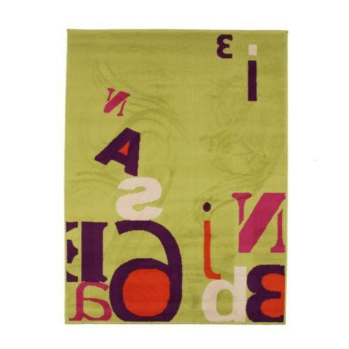 Tapis vert 120x170cm - Colors Text
