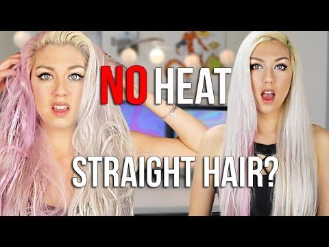 BEAUTY HACK OR WACK: STRAIGHTEN YOUR HAIR WITHOUT HEAT?
