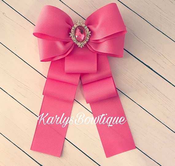 Princess Pink Bow Brooch Pretty on Pinks Collection LIMITED EDITION