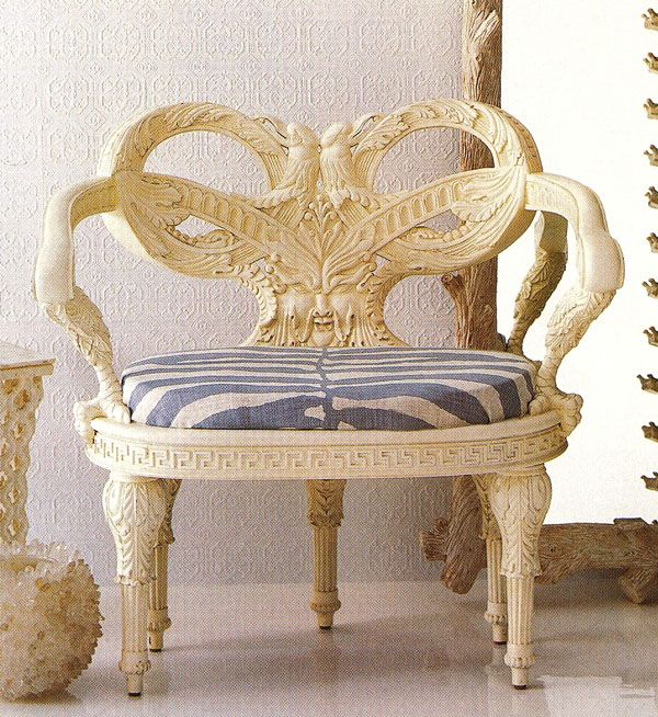 Zeus Chair from Oscar de la Renta for Century Furniture
