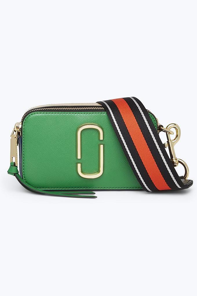 e19e7a503794 Marc Jacobs Snapshot Small Camera Bag in Pepper Green Multi | Marc ...