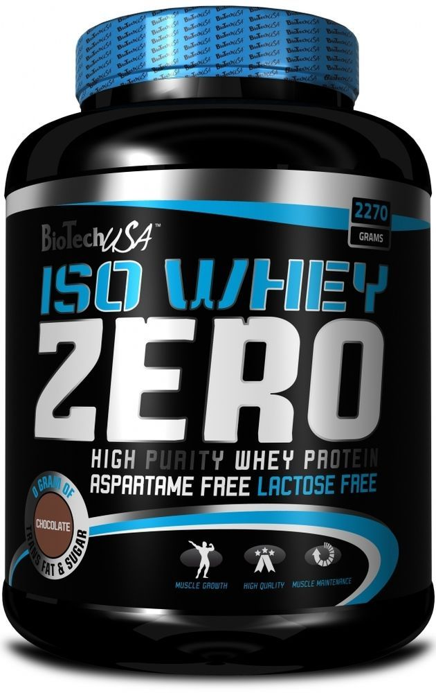 Biotech USA Iso Whey Zero 2.2kg High Purity 98 Kcal per serving 90 Servings