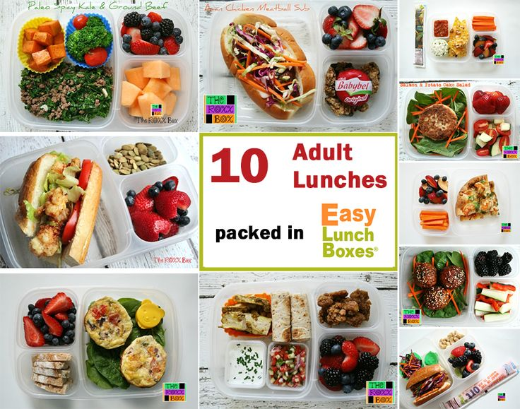 10 adult lunches. Packed to go in @EasyLunchboxes