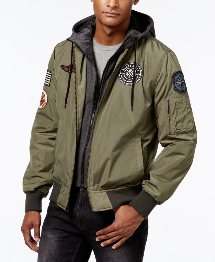 American Rag Men's Hooded Bomber Jacket, Only at Macy's