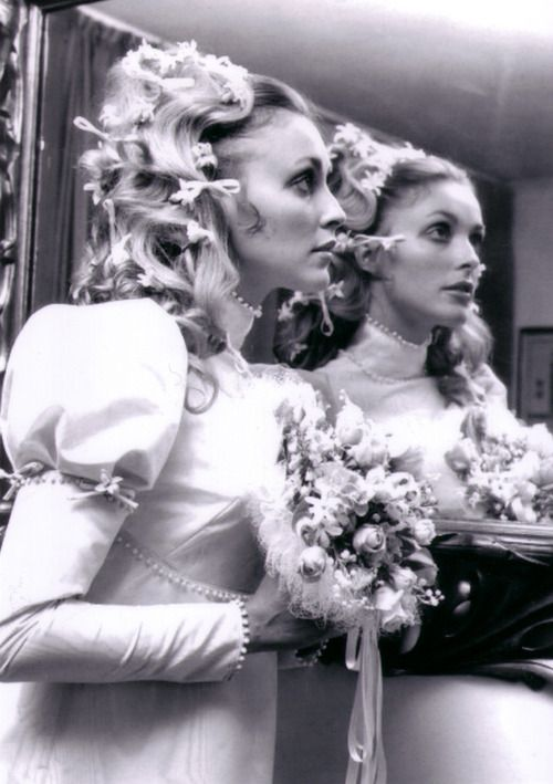 Sharon Tate before her wedding to Roman Polanski, 1968. Beautiful girl, taken too soon.  : - (