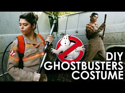 DIY GHOSTBUSTERS 2016 COSTUME | THE SORRY GIRLS - YouTube