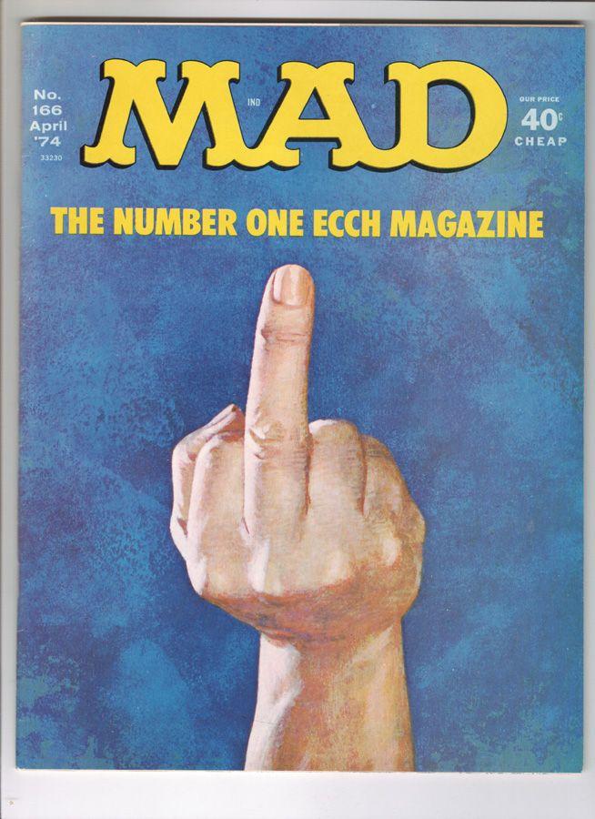 Mad Magazine (April 1974).