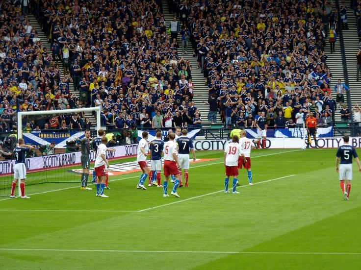 Queens Park & Scotland National Football Team. Hampden