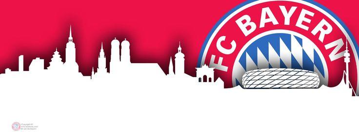 Das perfekte Hintergrundbild für das Facebookprofil - Bayern München